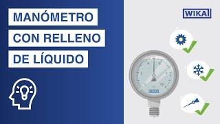 Manómetro con relleno de líquido | Ventajas y aplicaciones