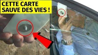 CETTE CARTE SAUVE DES VIES !