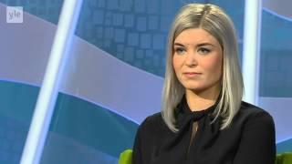 Susanna Koski Aamu-TV:ssä - Punavihreä, sinivalkoinen