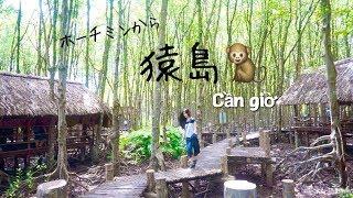 【ベトナム旅行】マングローブ林と猿の島:カンザー国立公園