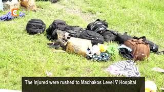 Five perish on a road crash involving a matatu and trailer