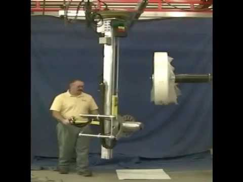 Positech® Vertical Rail Lifter for Roll Handling