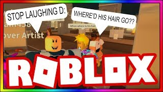 (Roblox) A COWBOY goes to the BEAUTY SALON, and THIS happens! (FUNNY!)