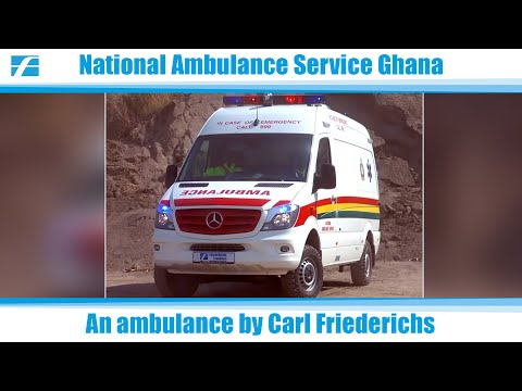 Carl Friederichs MOH NAS Ambulance Ghana