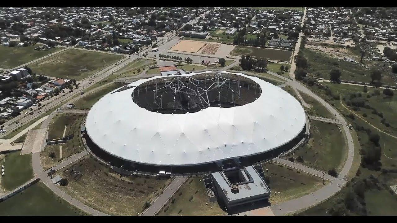 Drone Estadio Único Ciudad de La Plata - YouTube