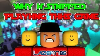 [Roblox] Miners Haven: WHY I STOPPED PLAYING THIS GAME (I'm sorry Berezaa)