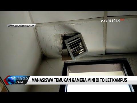 Mahasiswa UIN Makassar Temukan Kamera Mini di Toilet Kampus