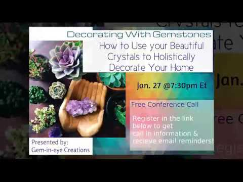 Decorating with Gemstones: How to Use Your Beautiful Crystals to ...