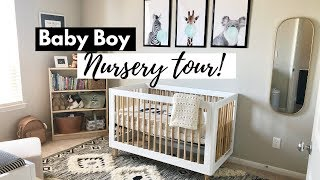 NURSERY TOUR! | Neutral Theme for Baby Boy