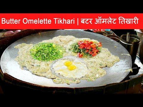 Yummy ! Butter Omelette Tikhari - Special Gujarati Egg Dish || Delicious Egg Dish Indian Recipe