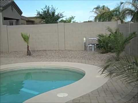 Homes with swimming pools in casa grande arizona youtube for Houses for sale pool