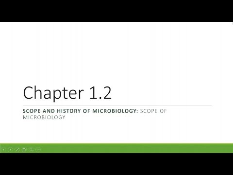 Microbiology Chapter 01.2 Scope of Microbiology, Microbiologist's Work