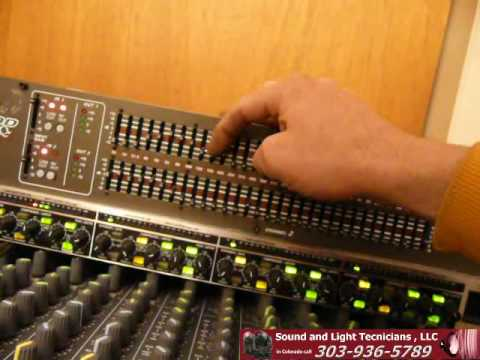 Soundboard Basics 11 - inserting an EQ and a Compressor into a channel