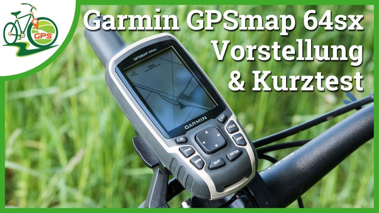 Vorstellung Garmin Gpsmap 64x Amp Gpsmap 64sx Youtube