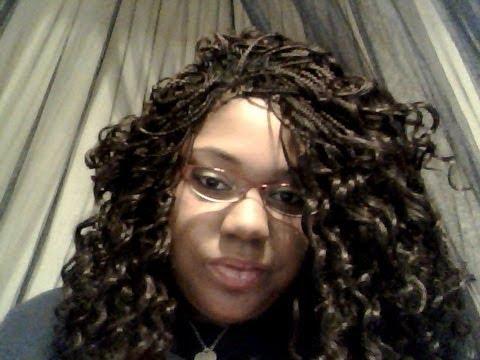 Freetress Presto Curl Braiding Hair 1 Month Review Youtube