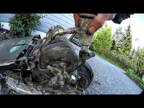 E9 - Aprilia SR50 RAT SCOOT | Rally Disaster Recap