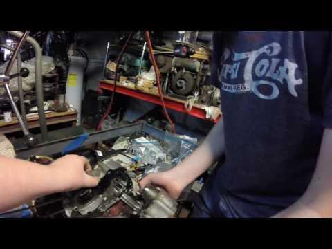 Looking at my Honda z50 engine.