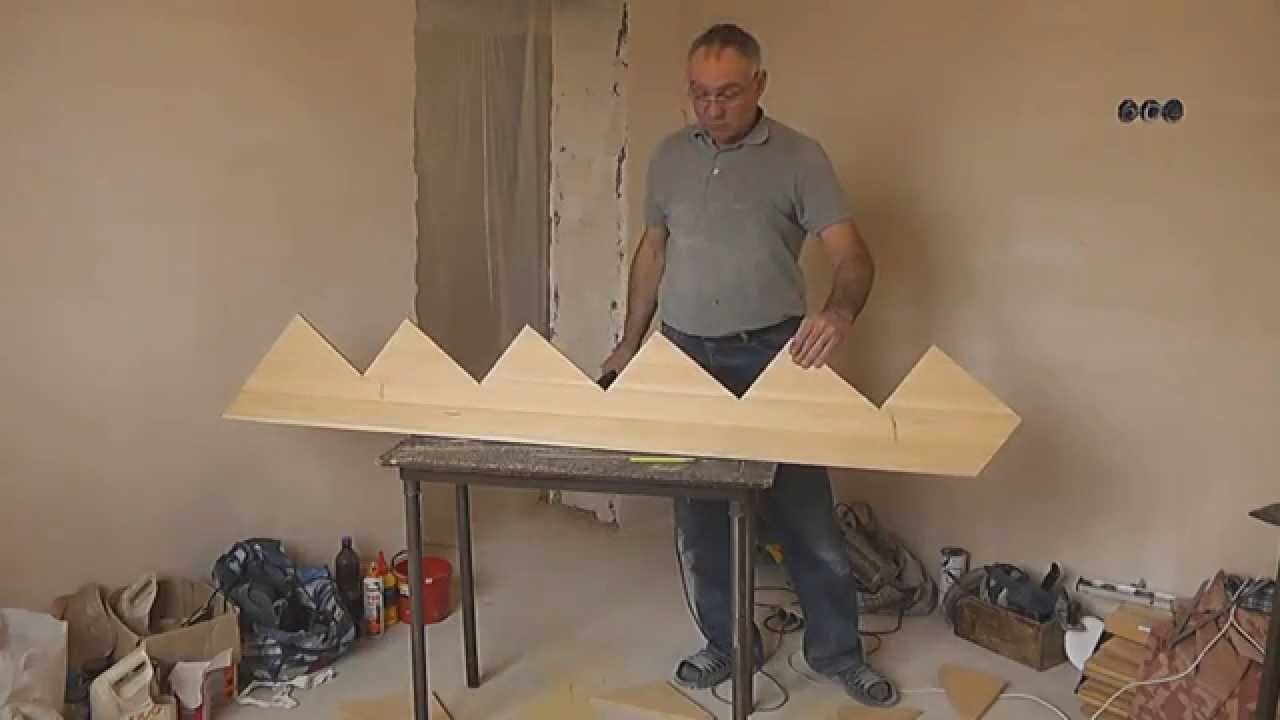 Видео как обшить бетонную лестницу деревом своими руками