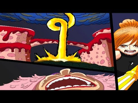 ONE PIECE REVIEW 875 | ¡EL ENORME ATAQUE DE NAMI QUE DAÑA A BIG MOM! | ¿ZEUS NUEVO POWER-UP DE NAMI?