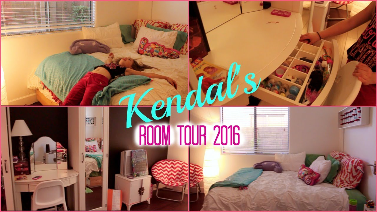 Kendal S Room Tour 2016 Youtube