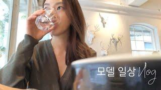 브이로그 일상 | 모델 Vlog (청담 헤어샵, 혼자 …