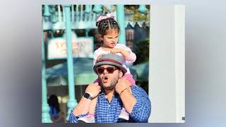 Josh Gad is all smiles at daughter
