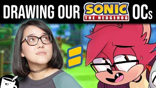Artists Draw Themselves As Sonic Characters
