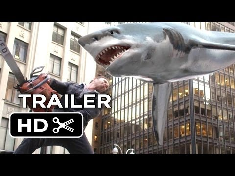 Sharknado 2: The Second One Official Trailer #1 (2014) - Syfy Channel Sequel HD