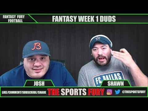 Fantasy Football Week 1 Recap/ Week 2 Outlook
