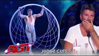 Matthew Richardson: Hoop Act EMOTIONAL Tribute To His Late Dad | America's Got Talent 2019