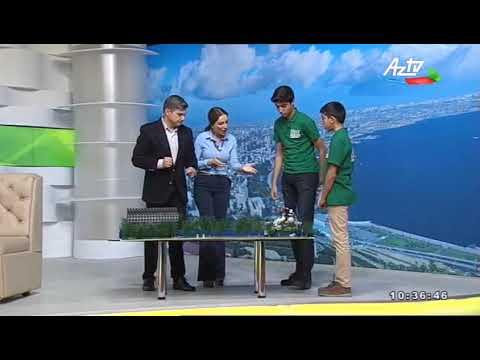 Dünya Robot olimpiadası qaliblər AZTV