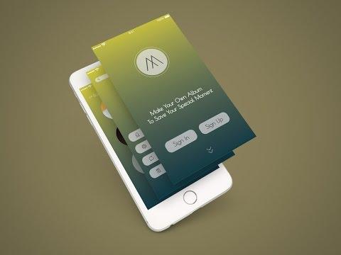 Mobile Apps Design- Adobe Illustrator CC