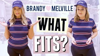 What Actually Fits Me at Brandy Melville?