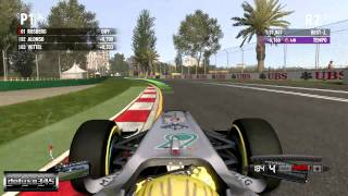 F1 2011 Video Game Gameplay (PC HD)