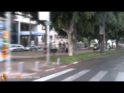Rothschild Boulevard, Tel Aviv From A Motorcycle...