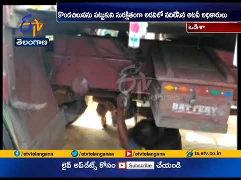 Driver Finds | 8 Feet Long Python in Lorry Engine | at Odisha