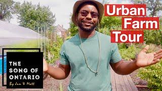This Detroit Agrihood is Transforming its Community - Michigan Urban Farming Initiative Tour