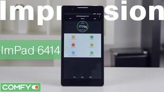 Impression ImPad 6414 7'' 8Gb 3G - бюджетный планшет с 3G - Видеодемонстрация Планшета от Comfy.ua