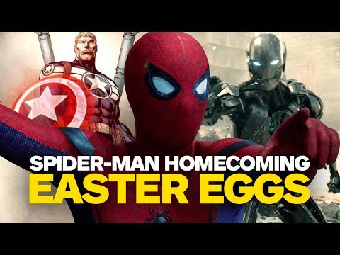 Thumbnail: Spider-Man: Homecoming Easter Eggs and References