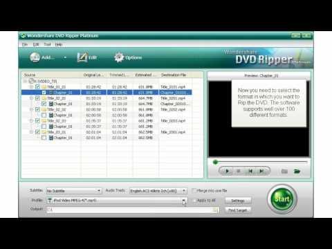 How To Rip DVD On Windows Vista / Windows 7