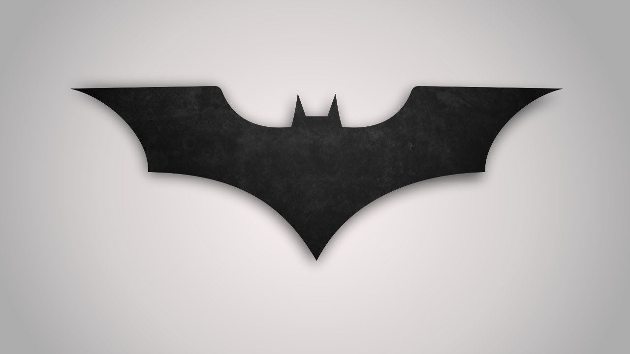 Como Desenhar O Simbolo Do Batman No Corel Draw Youtube