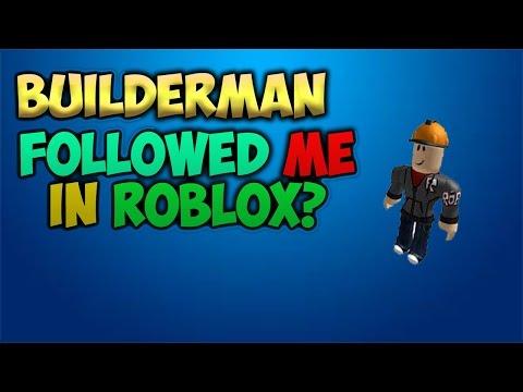 Roblox Old Builderman