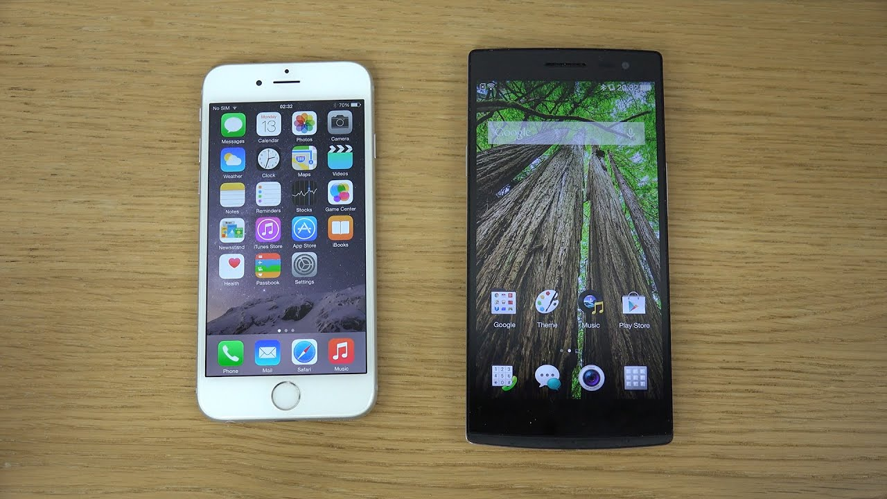 IPhone 6 Vs Oppo Find 7