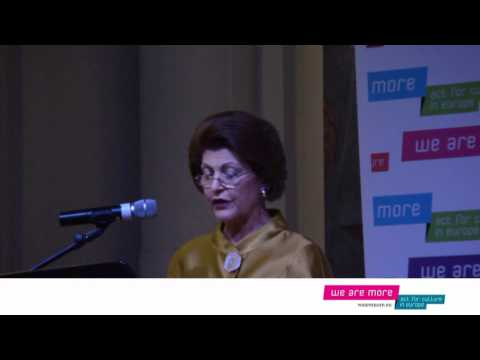 'We Are More' Campaign Launch -  Androulla Vassiliou