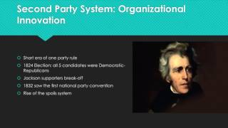 The Development and Evolution of Political Parties