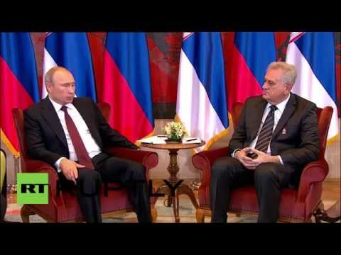 Serbia: Putin warmly tells Nikolic 'Russia doesn't sell friendship'