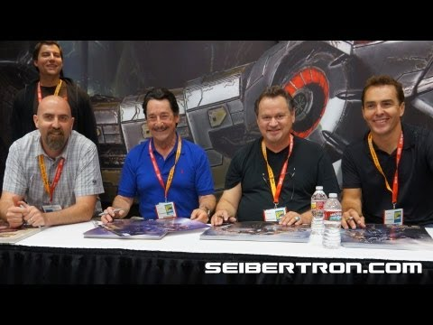 Activision's Transformers Fall of Cybertron Video Game Talent signing SDCC 2012 - Seibertron.com