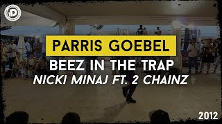 parris goebel beez in the trap nicki minaj idancecamp 2012 bounce factory