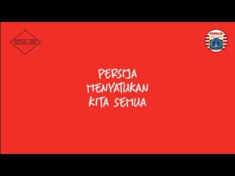 Persija Menyatukan Kita Semua + Lyric Full HD