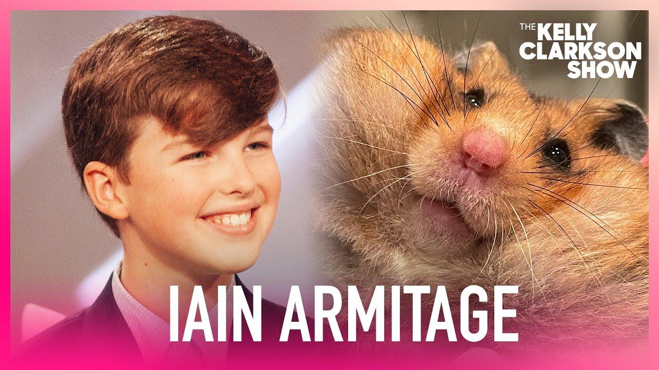 Iain Armitage Has A Sassy Pet Hamster